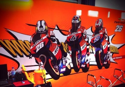 Repsol Honda HRC MotoGP 2011