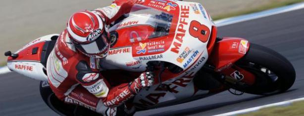 Héctor Barberá durante su etapa como piloto del Aspar Team/ lainformacion.com