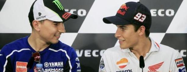 Jorge Lorenzo y Marc Márquez