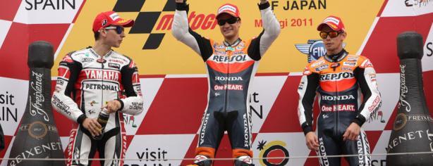 Pedrosa ya ganó en Motegi en 2011