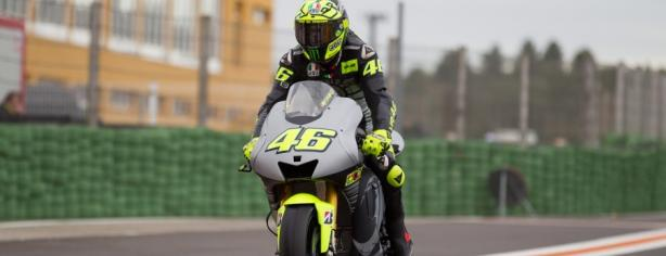 Valentino Rossi con la Yamaha/ Motogp.com