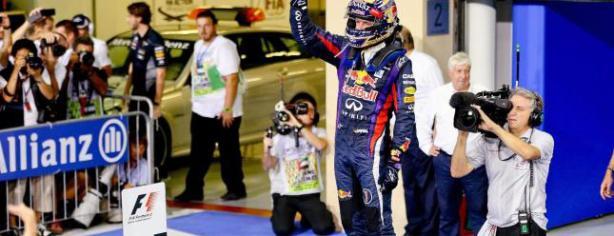 Sebastian Vettel gana en Abu Dhabi/ lainformacion.com