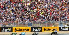 Imagen de las gradas del circuito de Jerez