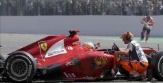 Fernando Alonso en el Gran Premio de Bélgica de 2012/ lainformacion.com