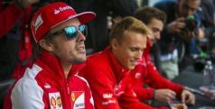 Fernando Alonso en el Circuito Gilles Villeneuve