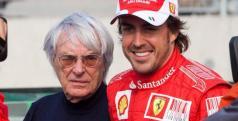 Fernando Alonso y Bernie Ecclestone/ lainformacion.com/ EFE