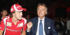 Fernando Alonso y Luca di Montezemolo/ lainformacion.com/ EFE