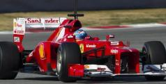 Fernando Alonso rodando en Montmeló/ lainformacion.com/ EFE