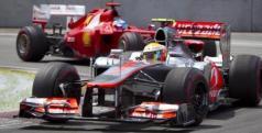 Hamilton y Alonso en el GP de Canadá 2012/ lainformacion.com