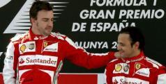 Fernando Alonso y Felipe Massa/ lainformacion.com