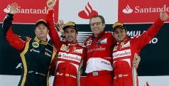 Alonso, Massa y Raikkonen protagonistas en Ferrari/ lainformacion.com