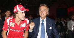 Fernando Alonso y Luca di Montezemolo/ lainformacion.com