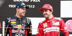 Fernando Alonso y Sebastian Vettel/ lainformacion.com/ EFE
