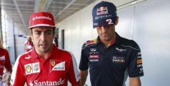 Fernando Alonso y Mark Webber/ lainformacion.com