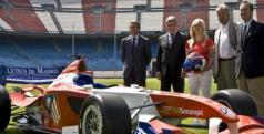 El Atlético de Madrid corrió en la Superleague Fórmula/ lainformacion.com/ EFE