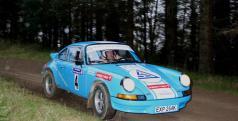 Porsche participante en la Midnight Sun Rally
