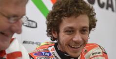 Jeremy Burgess y Valentino Rossi/ Ducati