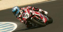 Carlos Checa en Phillip Island/ Team Ducati Alstare