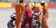 Checa con los comisarios de pista en Motorland