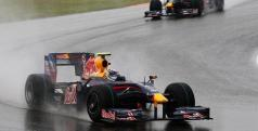 Red Bull en el GP China 2010