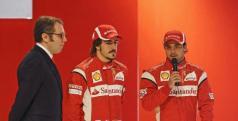 Stefano Domenicalli, Alonso y  Massa/ lainformacion.com/ Getty Images