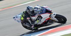 Toni Elías probando con el equipo BMW Motorrad Italia