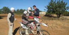 Imagen de un entrenamiento de MX