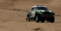 Los MINI están mostrándose muy fiables en el Dakar