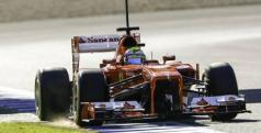 Felipe Massa durante los test de Jerez/ lainformacion.com