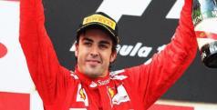 Fernando Alonso celebra su victoria en Hockenheim/ lainformacion.com