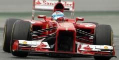 Fernando Alonso ha sido el más rápido hoy en Montmeló/ lainformacion.com/ EFE