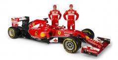 Alonso y Raikkonen con el Ferrari F14T