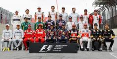 Foto de los pilotos de F1/ lainformacion.com/ Getty Images