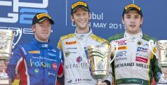 Podio GP Turquía GP2