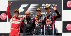Podio del Gran Premio de Europa de 2011/ Valencia Street Circuit