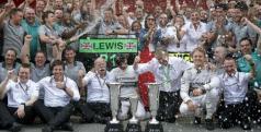 Hamilton celebra un nuevo triunfo/ lainformacion.com