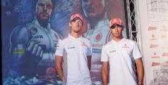 Lewis Hamilton y Jenson Button/ lainformacion.com/ EFE