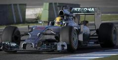 Lewis Hamilton con su Mercedes de 2014/ lainformacion.com