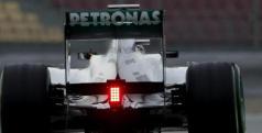 Lewis Hamilton en la jornada de hoy en Montmeló/ lainformacion.com/ EFE