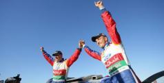Hirvonen celebra su victoria en Australia/ lainformación.com/ Getty Images