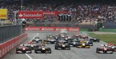 Salida de la carrera de Hockenheim en 2011/ lainformacion.com