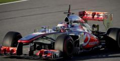 Jenson Button durante los test de Jerez/ lainformacion.com/ EFE