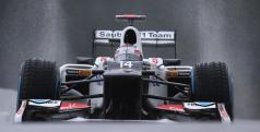 Kamui Kobayashi en Spa/ Sauber