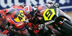 Kenny Noyes durante la prueba de Navarra de Moto2/ cev