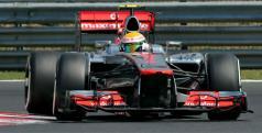Lewis Hamilton en Hungría/ lainformacion.com