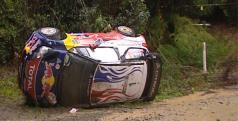 Accidente de Loeb/ Foto: WRC.com
