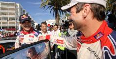 Sebastian Loeb y Dani Sordo en su etapa en Citroën