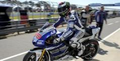 Jorge Lorenzo domina los primeros libres en Australia/ lainformacion.com