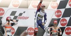 Lorenzo consigue la victoria en Japón/ lainformacion.com