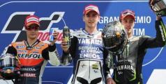 Lorenzo, Pedrosa y Dovizioso/ lainformacion.com/ EFE